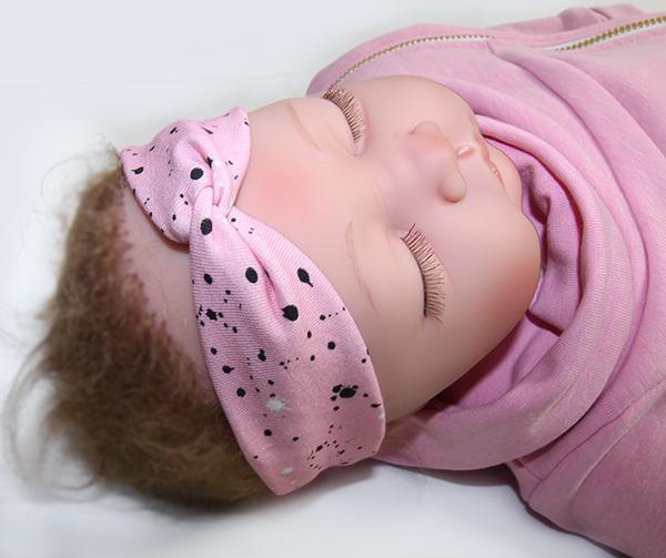 symönster hårband bebis