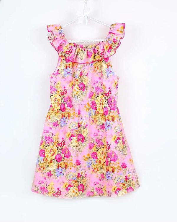 Bellflower dress 74 164 Symönster klänning
