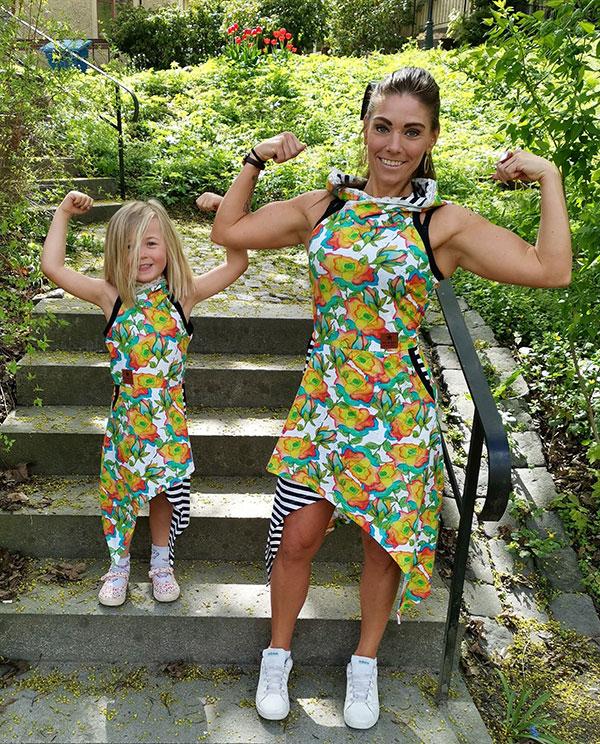 mor och dotter matchning klänningar