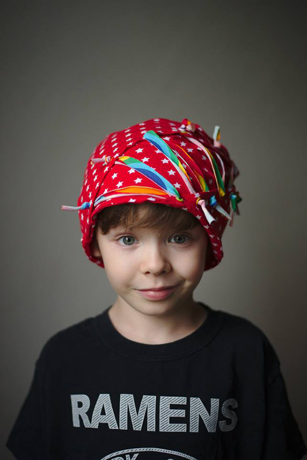 symönster söt mössa för barn