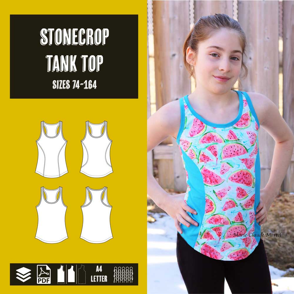 Stonecrop tank top racerback