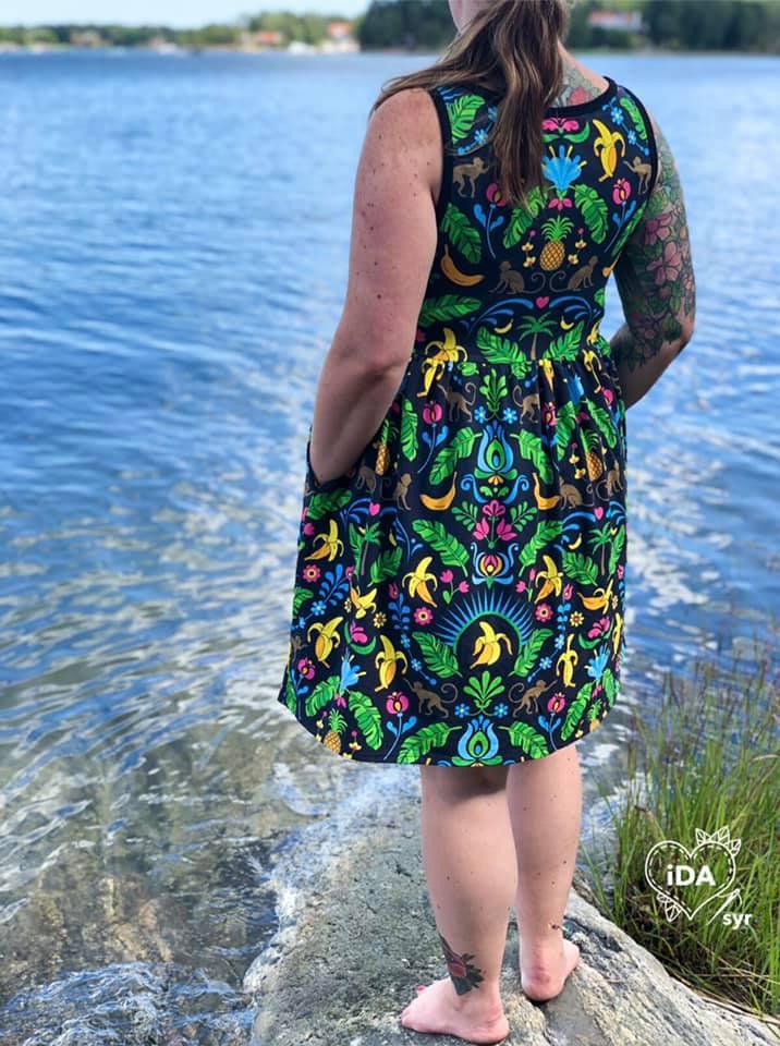 No limit dress gathered skirt pdf sewing pattern