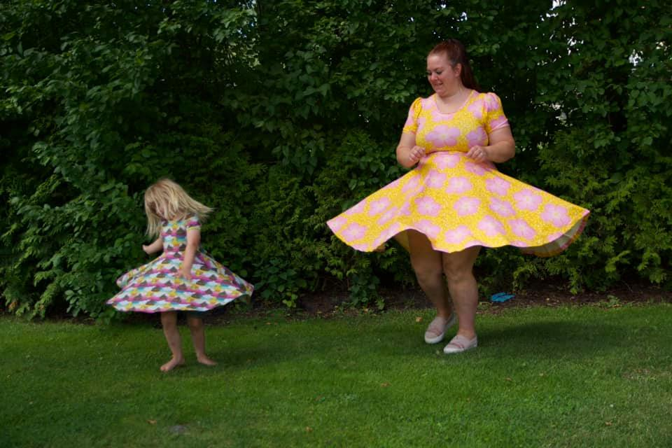 No limit dress twirl dress mother and daughter matching