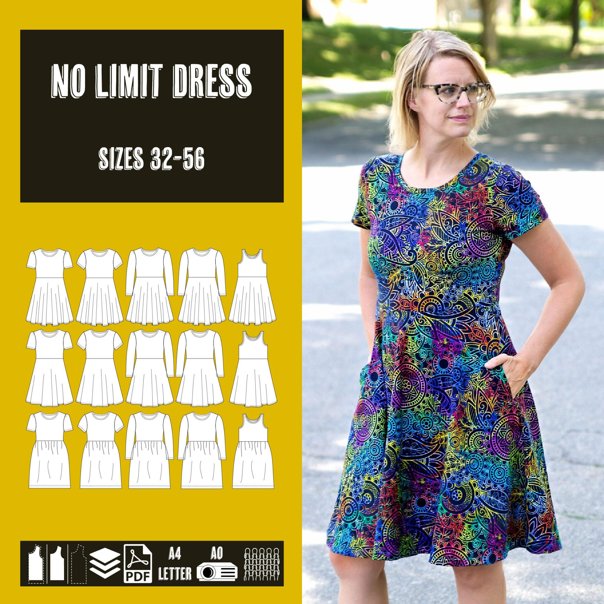No limit dress sewing pattern dress